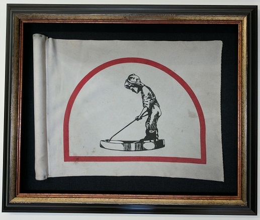 Framed Putterboy Flag