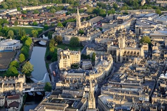 The Vibrant City Of Bath
