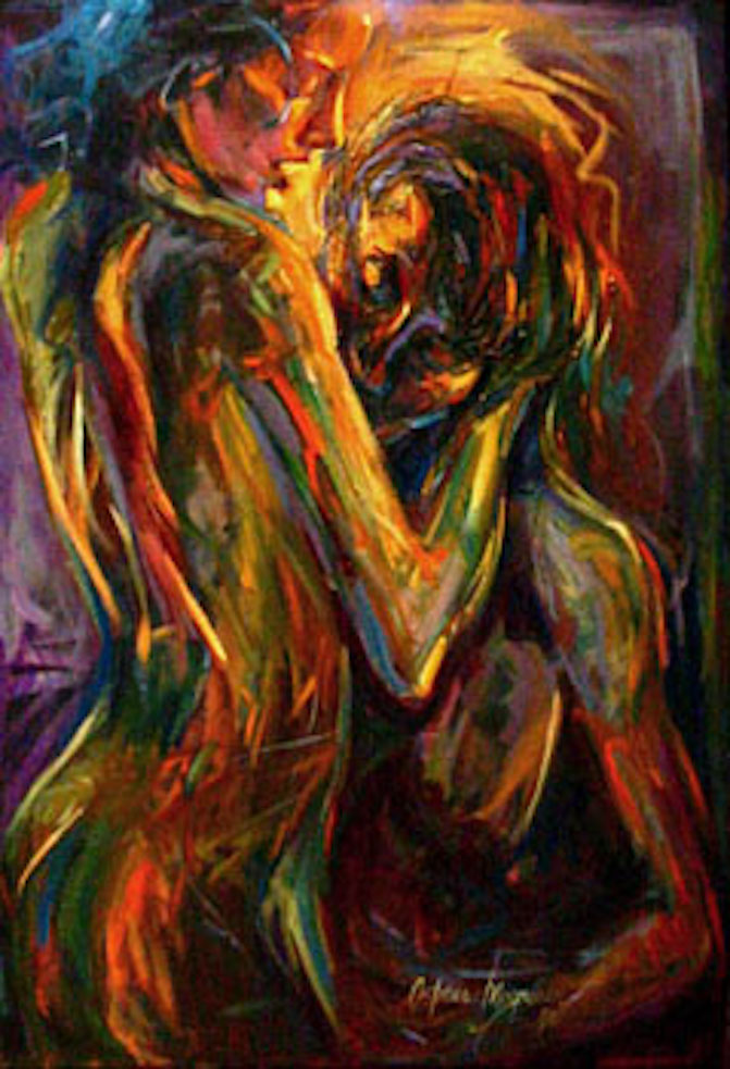 Passion 36x24 oil on canvas