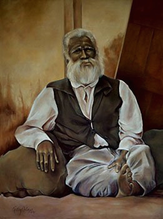 Old Man, 48x36 oil on canvas