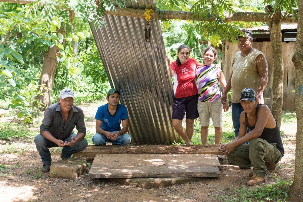 Community Members at La Calera, 2017