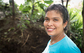 Eloisa is the President of the Gloria Quintanilla Women's Cooperative