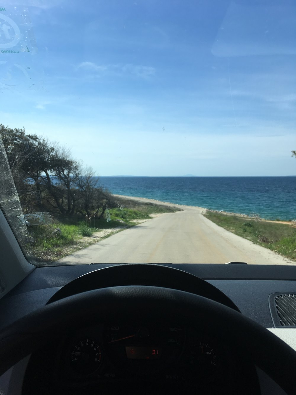 Drive to the end of the island Vir and back to Zadar is a great daytrip.