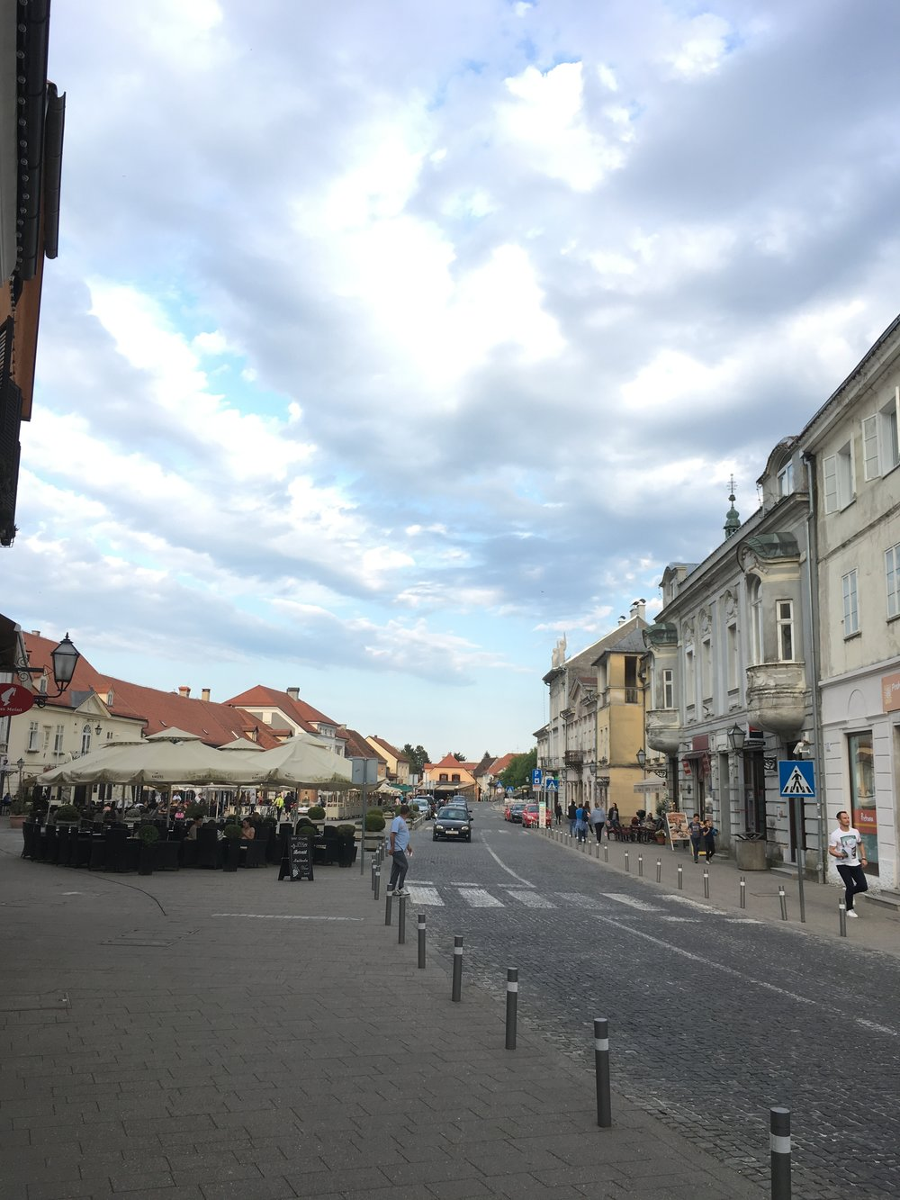 Patio restaurants and cafes of Samobor