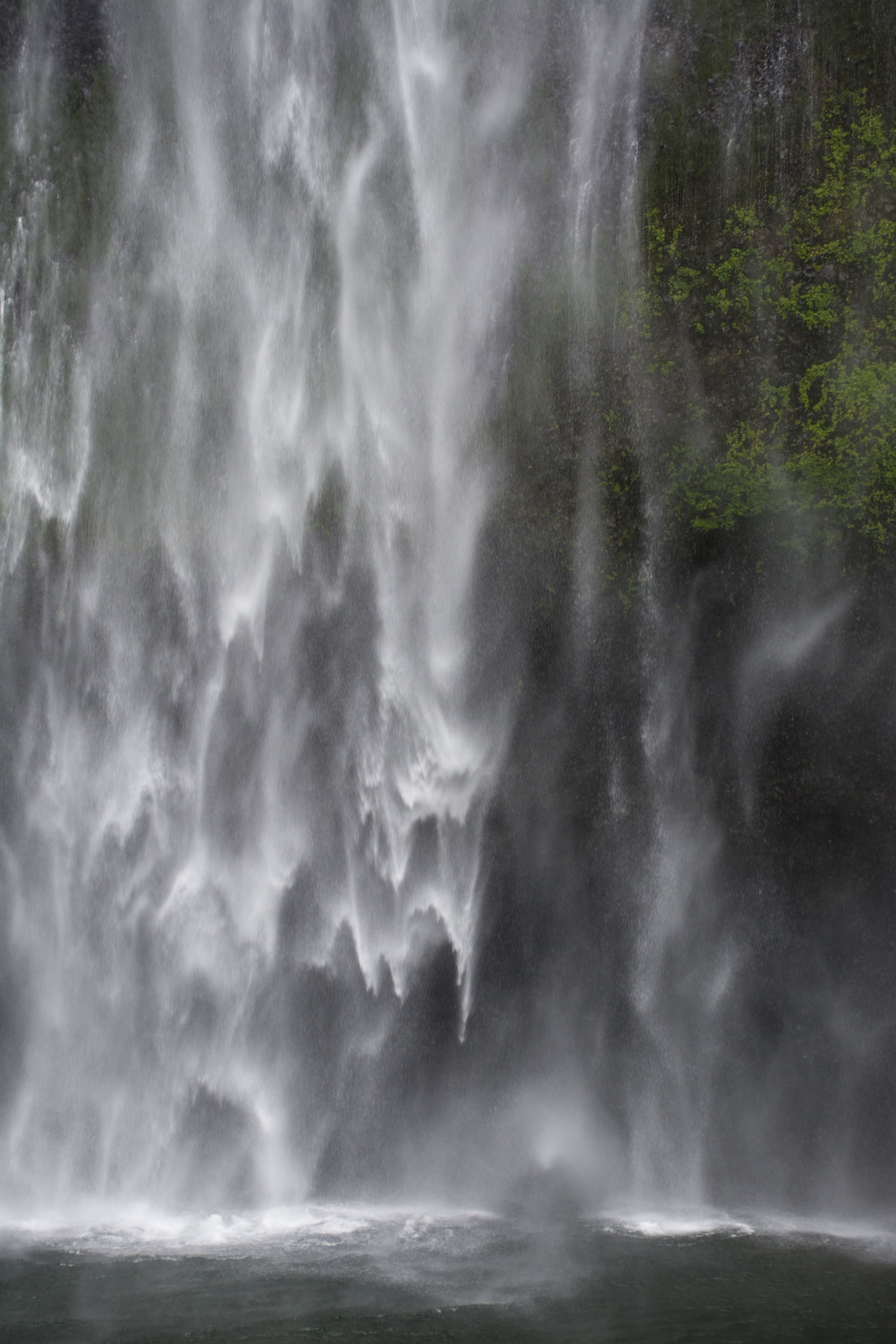What Central America rain seems like. (Multnomah Falls, Oregon; July 2016)