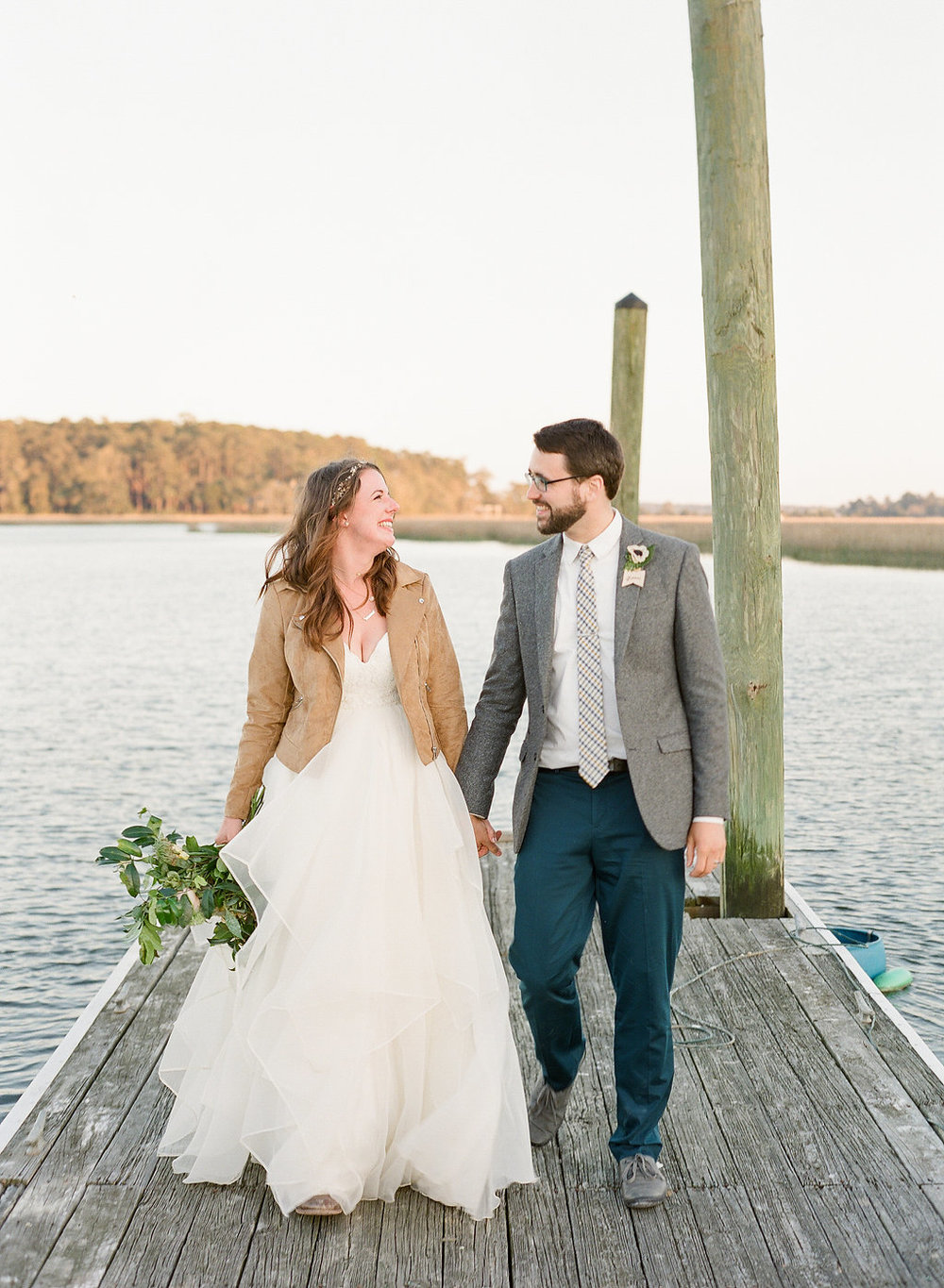 Rustic Savannah Wedding At The Wyld Dock Bar Featured On