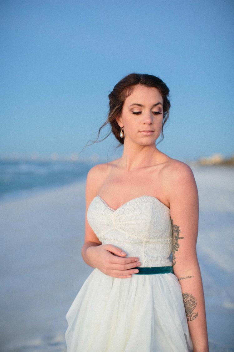 Ocean Sunrise {Featured on Weddings Unveiled} — Ivory & Beau -