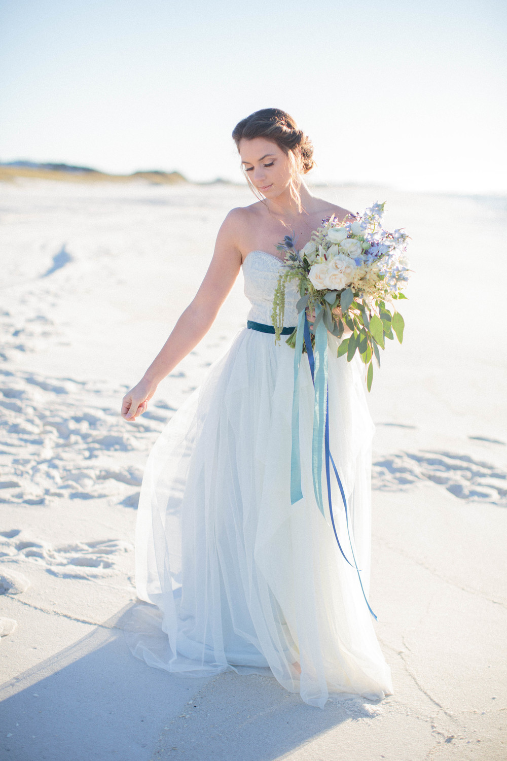 Ocean Sunrise {Featured on Weddings Unveiled} — Ivory & Beau -