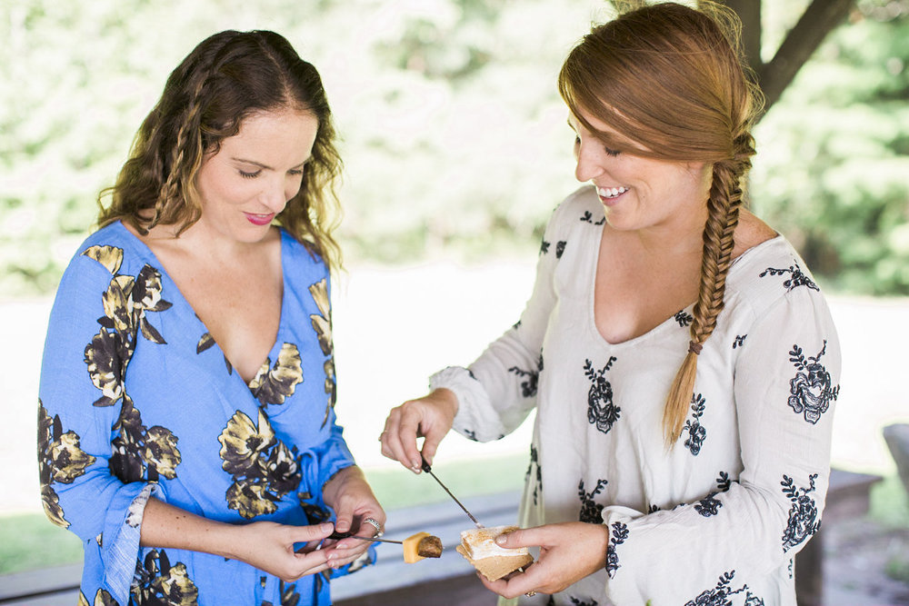 ivory-and-beau-savannah-wedding-planner-savannah-event-designer-friendship-bracelets-summer-camp-themed-wedding-smores-station-fishtail-braid-free-people-bridesmaids-dresses-mismatching-bridesmaids-dresses-Apt.BPhotography_SummerCamp(40of222).jpg