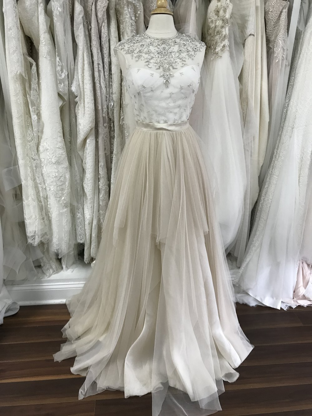 rebecca-schoneveld-savannah-savannah weddings-weddings-indie-bride-colored dress-wedding planner-ivory and beau-florist-separates-boutique-sweetheart-asymmetrical-savannah-veil-champagne-tulle-gold-beaded-high neckline-illusion neckline-silver.jpg