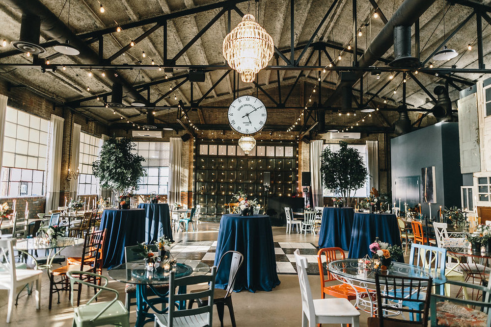 Photography by  Mackensey Alexander , Planning & Flowers by  Ivory & Beau  at  Soho South Cafe