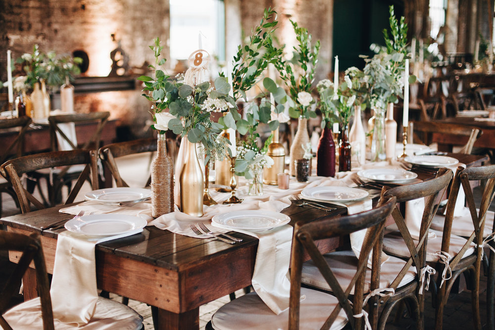 Photography by  Darling Juliet , Wedding planning & flowers by  Ivory & Beau  at  Georgia State Railroad  Museum