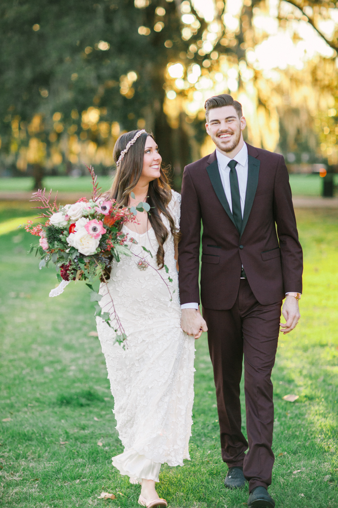COURTNEY'S WOODLAND FALL WEDDING