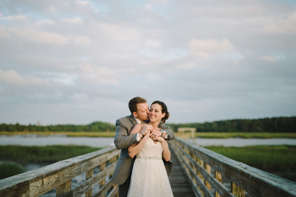 MEAGAN'S DOCKSIDE SOUTHERN WEDDING