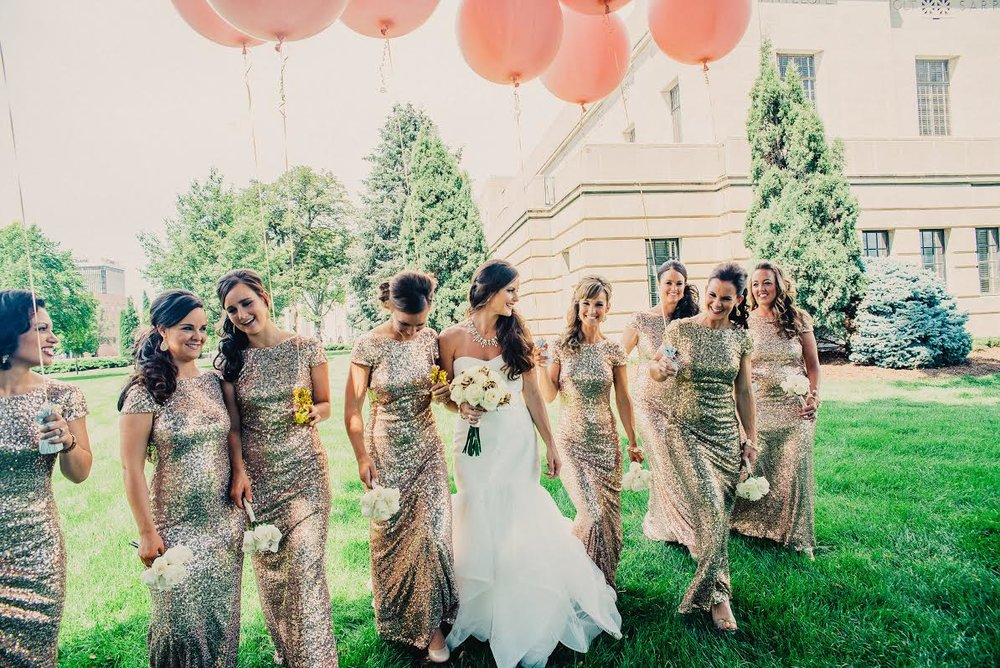 SAMANTHA'S GLAMOROUS SPARKLY WEDDING