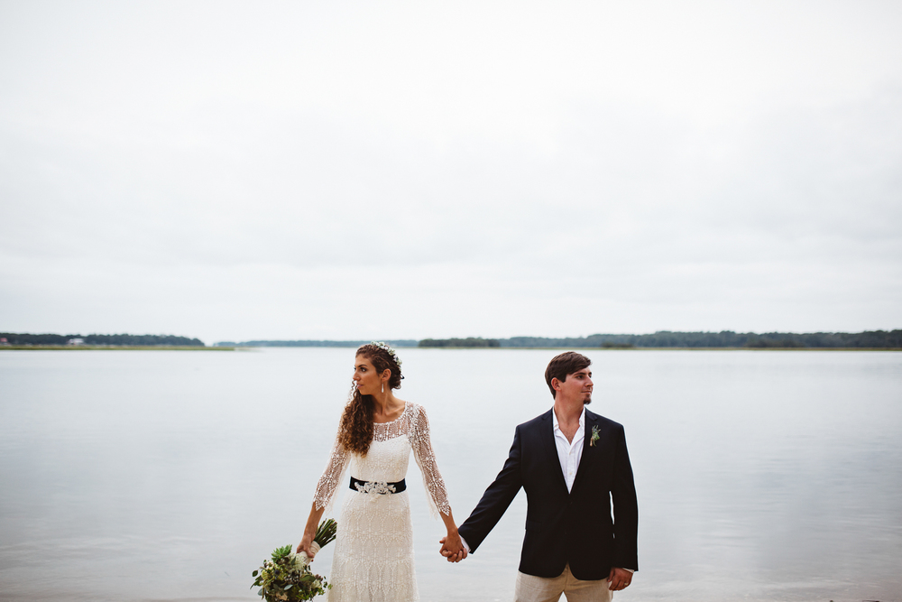 ALI'S WATERFRONT BACKYARD WEDDING