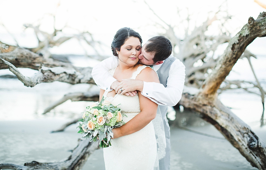 ABBY'S DREAMY DRIFTWOOD BEACH WEDDING