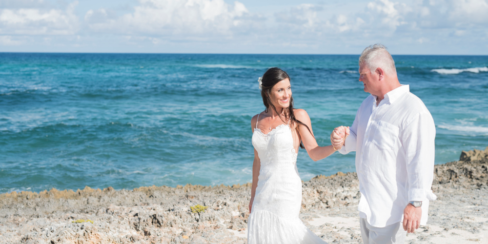 ANDREA'S SEXY DESTINATION BEACH WEDDING IN THE BAHAMAS