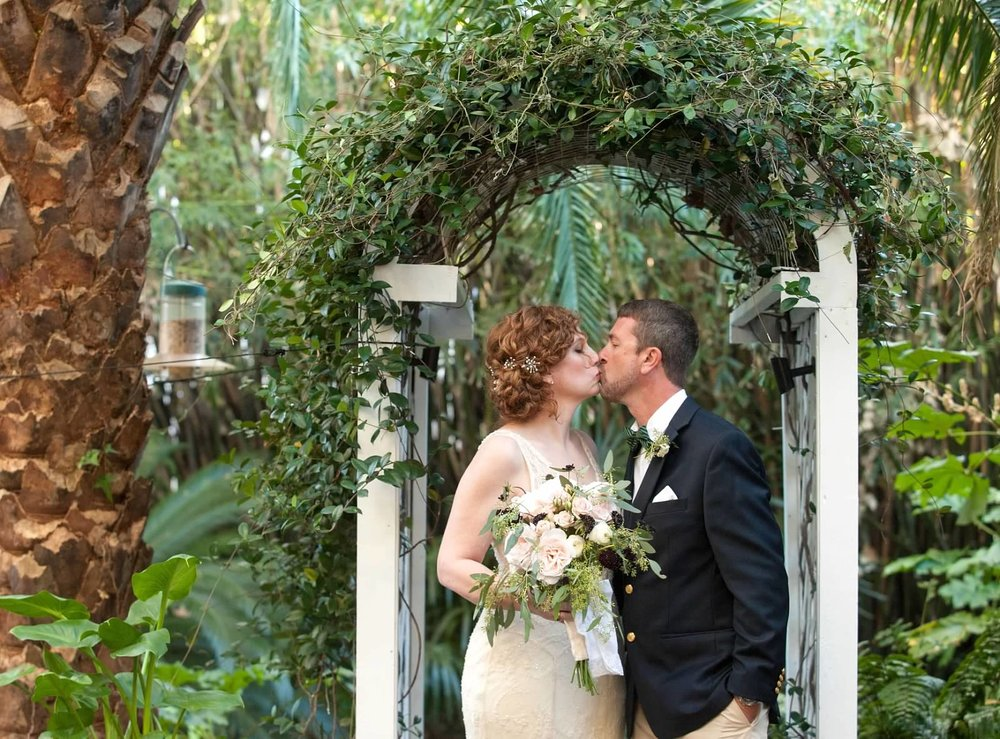 KELLY'S INTIMATE GATSBY GARDEN WEDDING