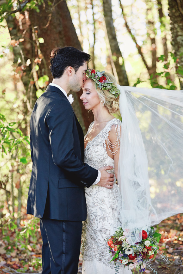 SARAH'S BOHO GLAM WOODLAND WEDDING