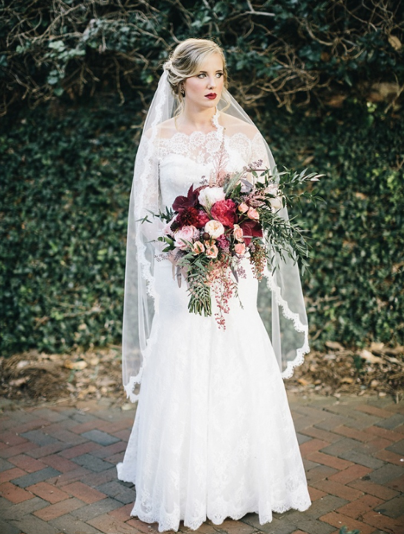 Betsy  rocked lace on lace and looked like a moody dream come true... like I mentioned before, too much lace is never too much lace / photo:  Mackensey Alexander
