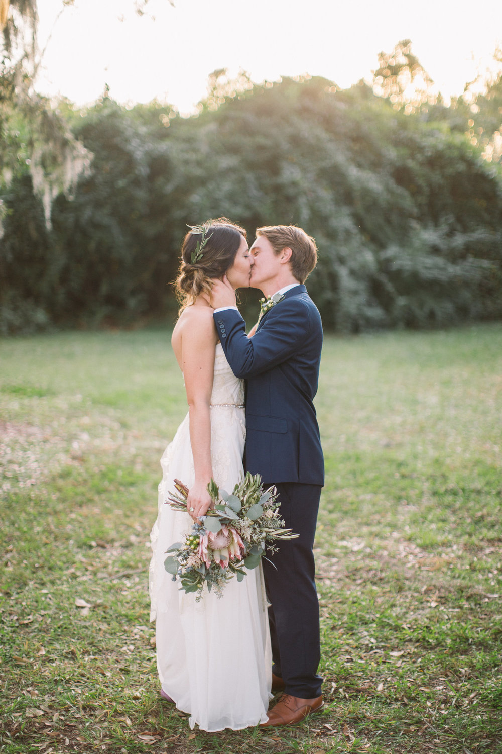 FALYN'S BOHO BOONE HALL PLANTATION WEDDING