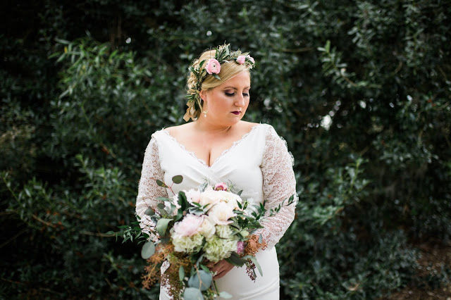SARAH'S CHIC GARDEN WEDDING