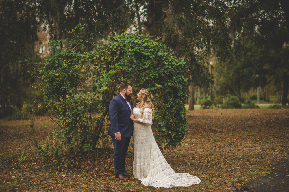 BRITTANY'S BEAUTIFUL BACKYARD WEDDING