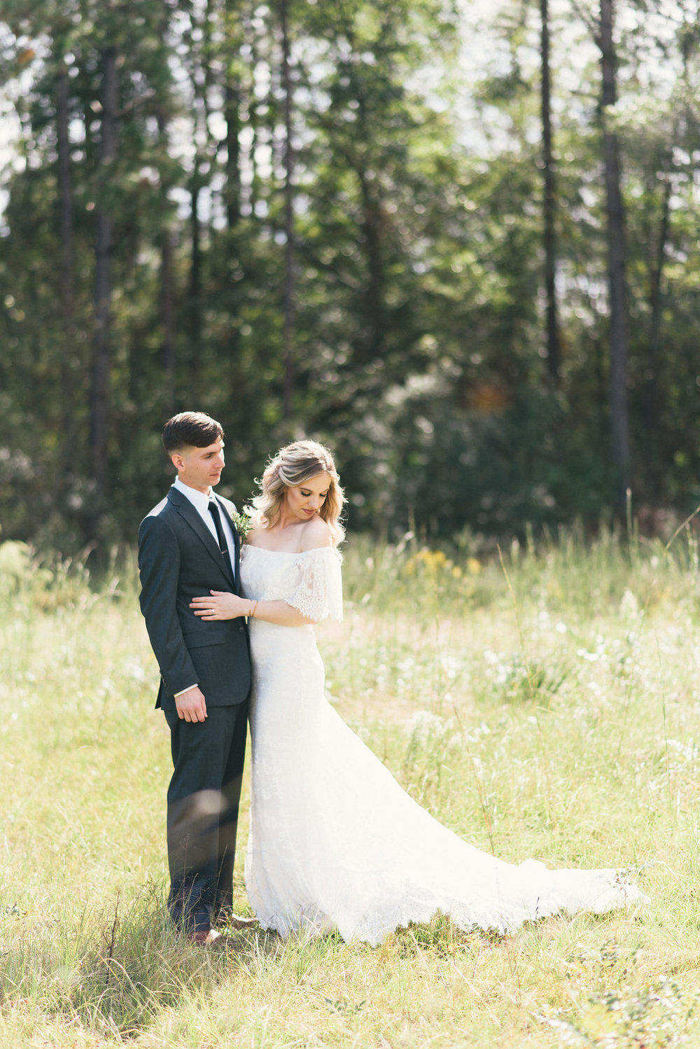 VICTORIA'S OUTDOORSY BOHO DOUGLAS GA WEDDING