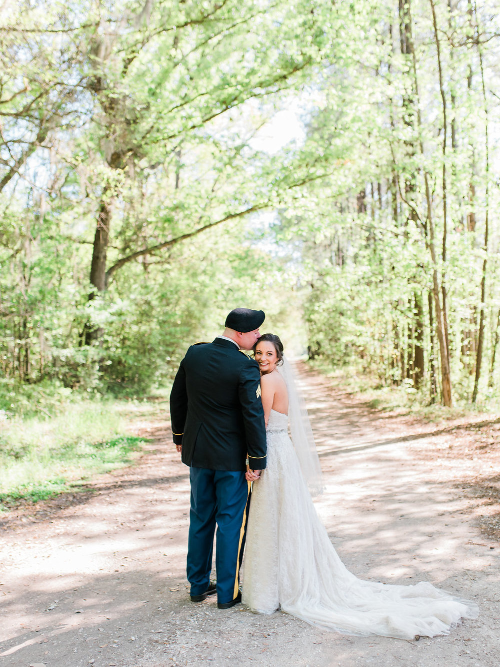 TRISHA'S SURPRISE MILITARY WEDDING AT THE MACKEY HOUSE