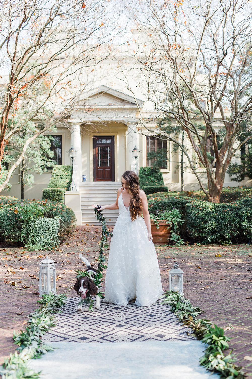 dog-ringbearer-dog-collar-dog-greenery-leash-ships-of-the-sea-wedding-inspiration-savannah-wedding-planner-savannah-event-designer-savannah-bridal-shop-blush-by-hayley-paige-fleur-de-lis-wedding-dress-ivory-and-beau.JPG