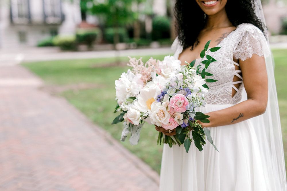 savannah-bridal-shop-i-and-b-florals-sonya-and-josh-colorful-rustic-boho-wedding-florals-at-soho-south-cafe-savannah-ga-wedding-danielle-george-photography-10.JPG