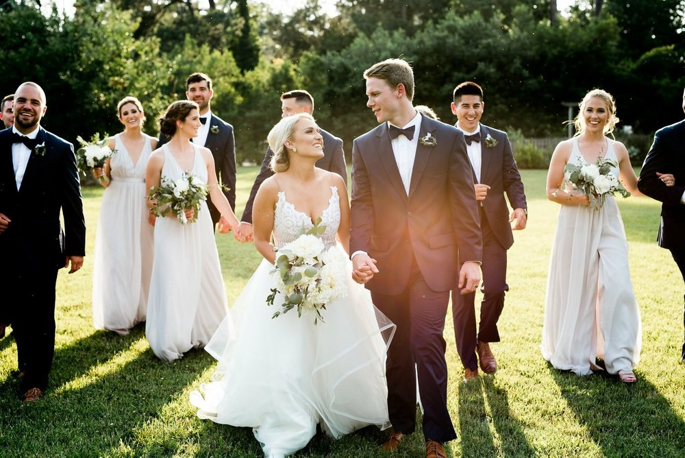 BRIDGET'S BREATHTAKING NORTH CAROLINA WEDDING