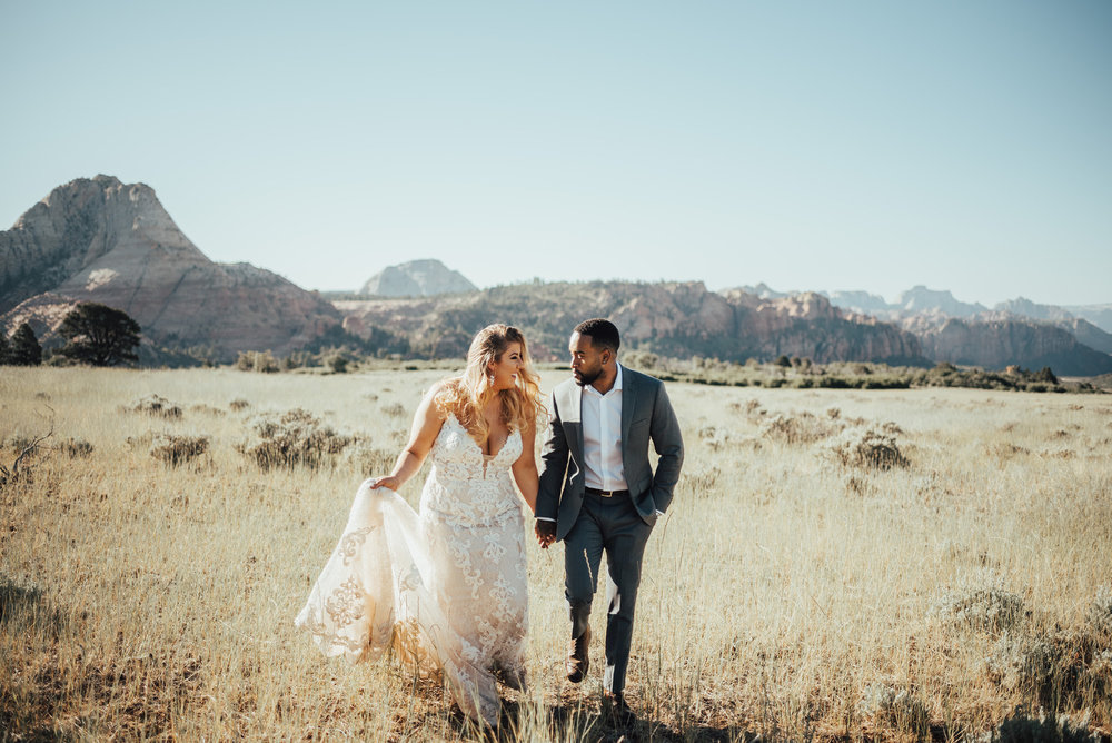 SELENA'S SCENIC ELOPEMENT AT ZION NATIONAL PARK