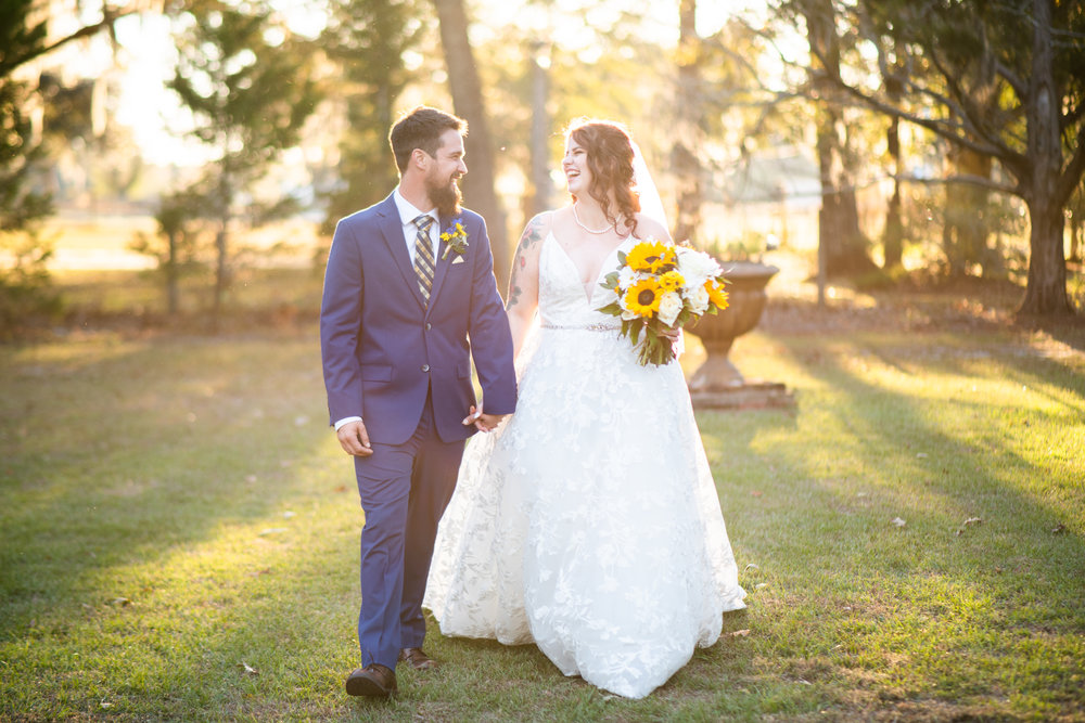 KASEY'S SUNNY AND SWEET OUTDOOR CEREMONY