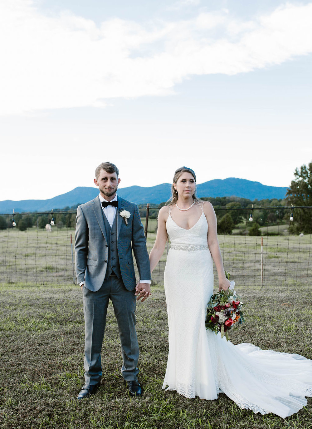 JORDAN'S RUSTIC, ROMANTIC NORTH CAROLINA WEDDING