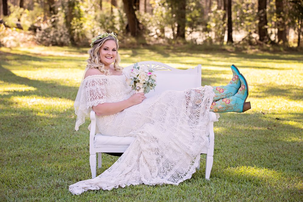 MOLLY'S SWEET SOUTHERN WEDDING