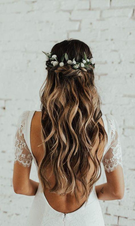 Wedding Hairstyles Short Long Brunette Blonde Everything In Between Ivory Beau