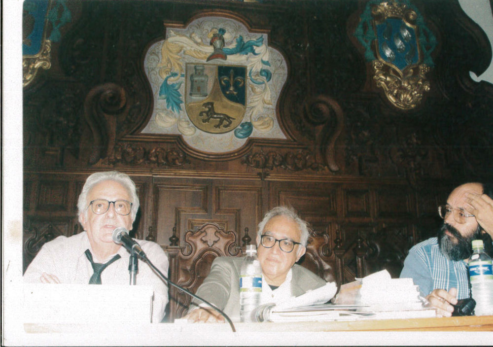 Rafael Corkidhi, Carlos Monsibáiz y Mariano Morales.