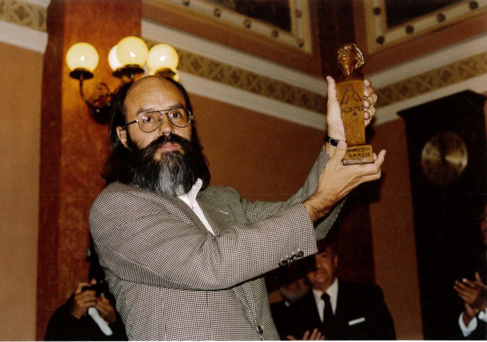 """Premio de periodismo: """"Francisco Zarco""""."""