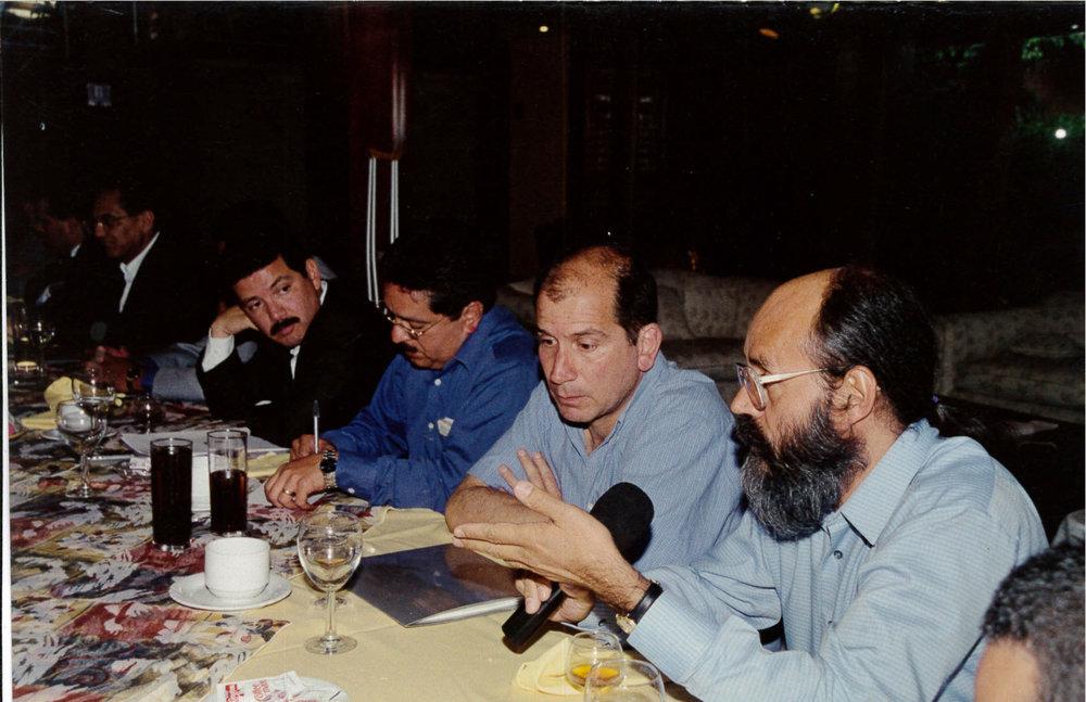 Con Sergio Mastreta.