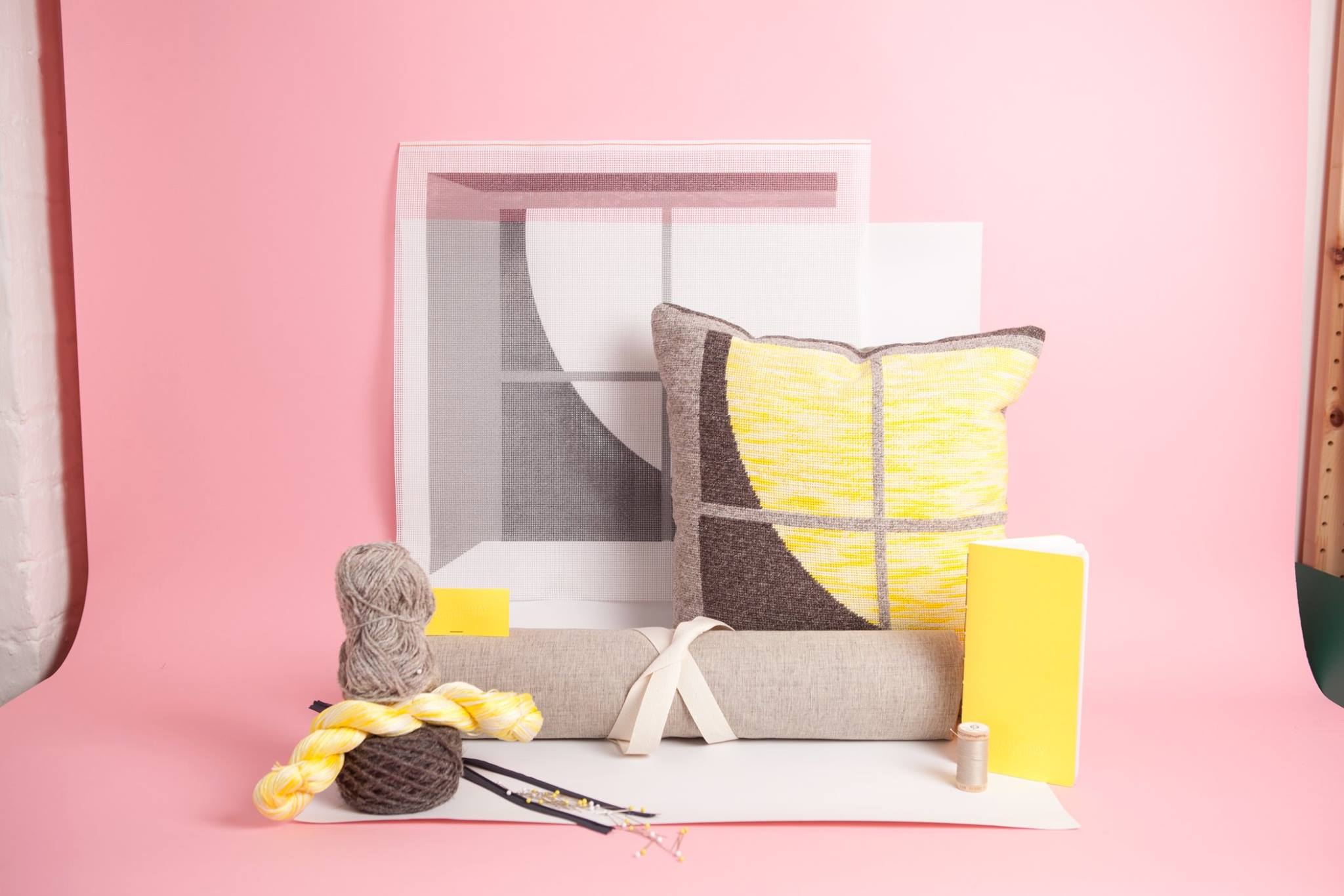 Yonder: A Needlepoint Tapestry Cushion Kit with Bethan Lloyd Worthington