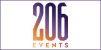206 Events is an Entertainment & Production Company serving Seattle, Bellevue, Everett, Tacoma and the Greater Puget Sound Area. Providing Full Service Event Production, DJ & Emcee Services, Lighting Design and Show Management