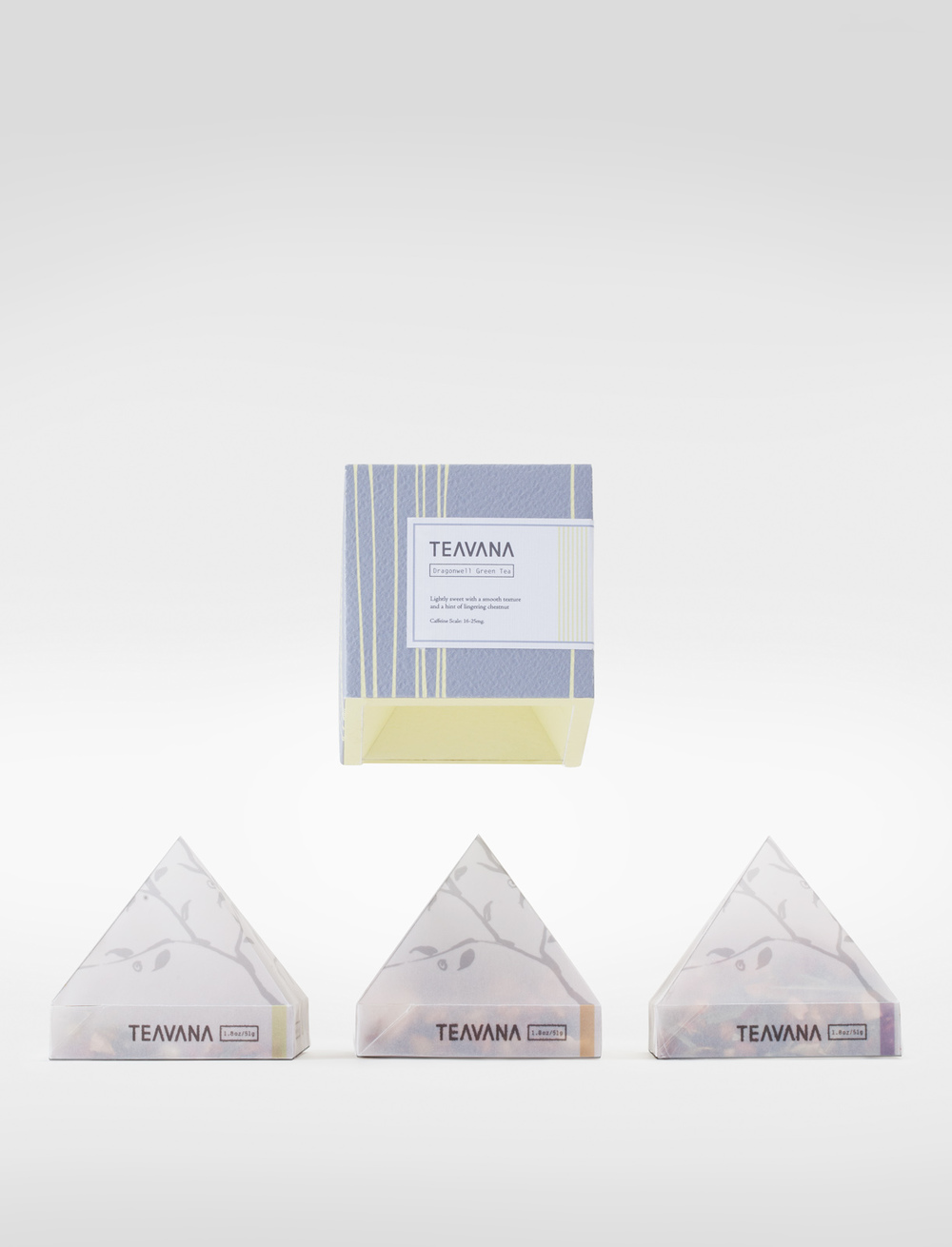 Teavana Spec packaging by Cindy Hu