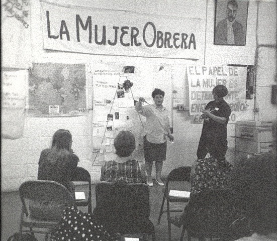 Museo Mayachen - We document the history of Barrio Chamizal, including the struggle of Mexican garment workers who labored for decades in factories across the neighborhood. Being connected to history allows us to see parallels of systemic prejudice and community resilience between the past and the present. Our archive always welcome stories and artifacts of the Chamizal neighborhood; contact us if you have something to share.