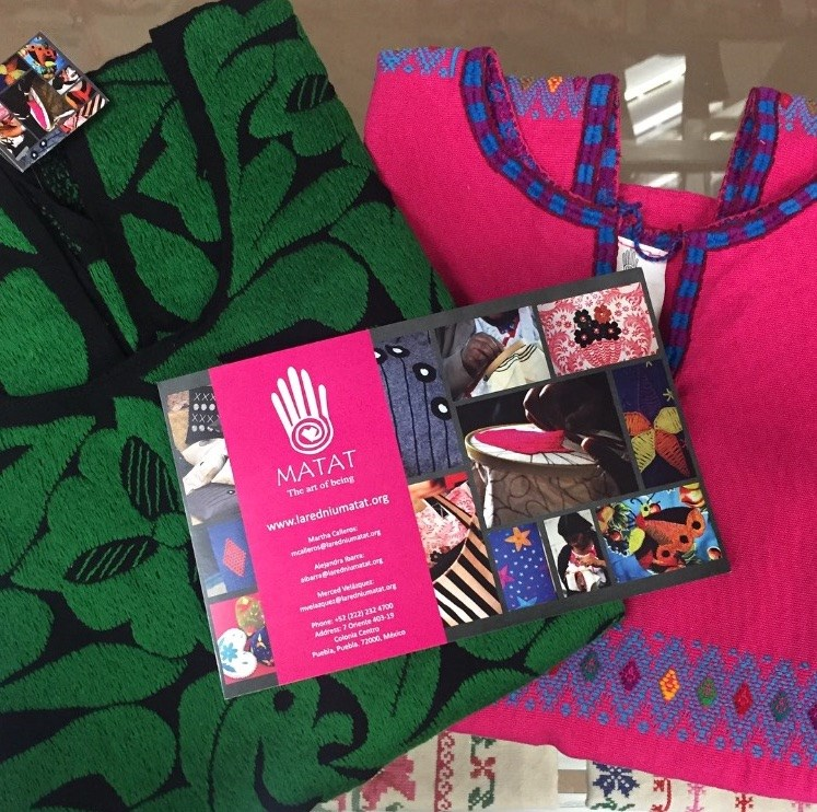 Lummetik Trading Co. - We believe in the right of people to remain in their communities if they choose, to not be displaced from their lands by forced migration. Our fair-trade import company serves as a point of sell site for goods including textiles, home goods, and toys crafted by indigenous women from cooperatives across Mexico that are members of the national network Niu Matat Napawika, which we also launched to assist the women in small business development and export.