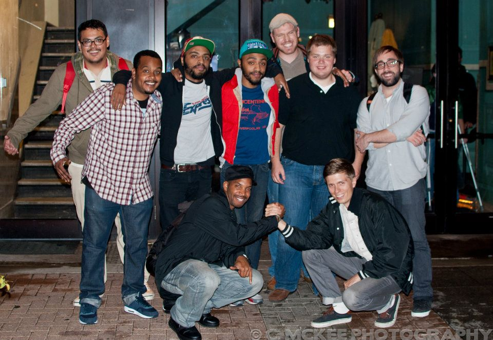 Best of Fest from 2011 (left to right):   Ramon Rivas II ,  Will Miles , Keith & Kenny  Lucas ,  Kenny DeForest , Charlie Bury,  Jim Tews ,  Yusuf Ali ,  Chris Thayer