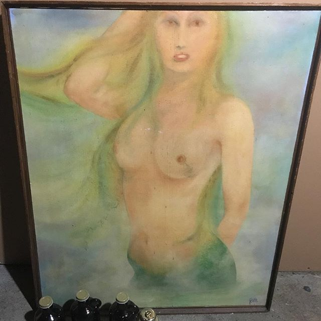 This woman won't sell me her oil on canvas painting of Vladimir Putin with tits and that bums me out.