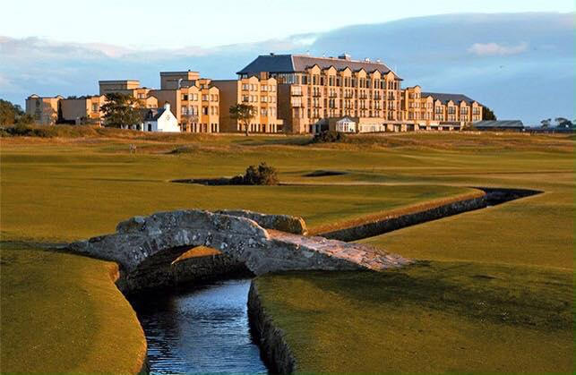 THE OLD COURSE HOTEL Luxury Hotel and Golf Course in St. Andrew's, Scotland