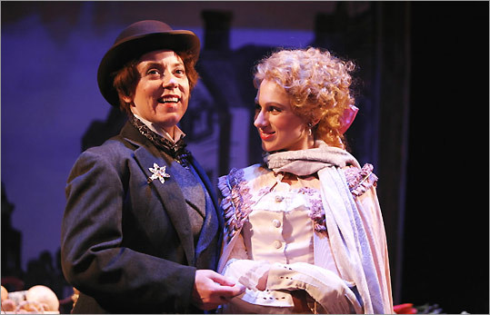 "with Erin Miramontes in SpeakEasy Stage Company's ""Mystery of Edwin Drood"""